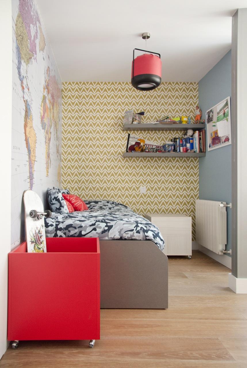 Decoración piso en Fuente del Berro - Madrid (4)