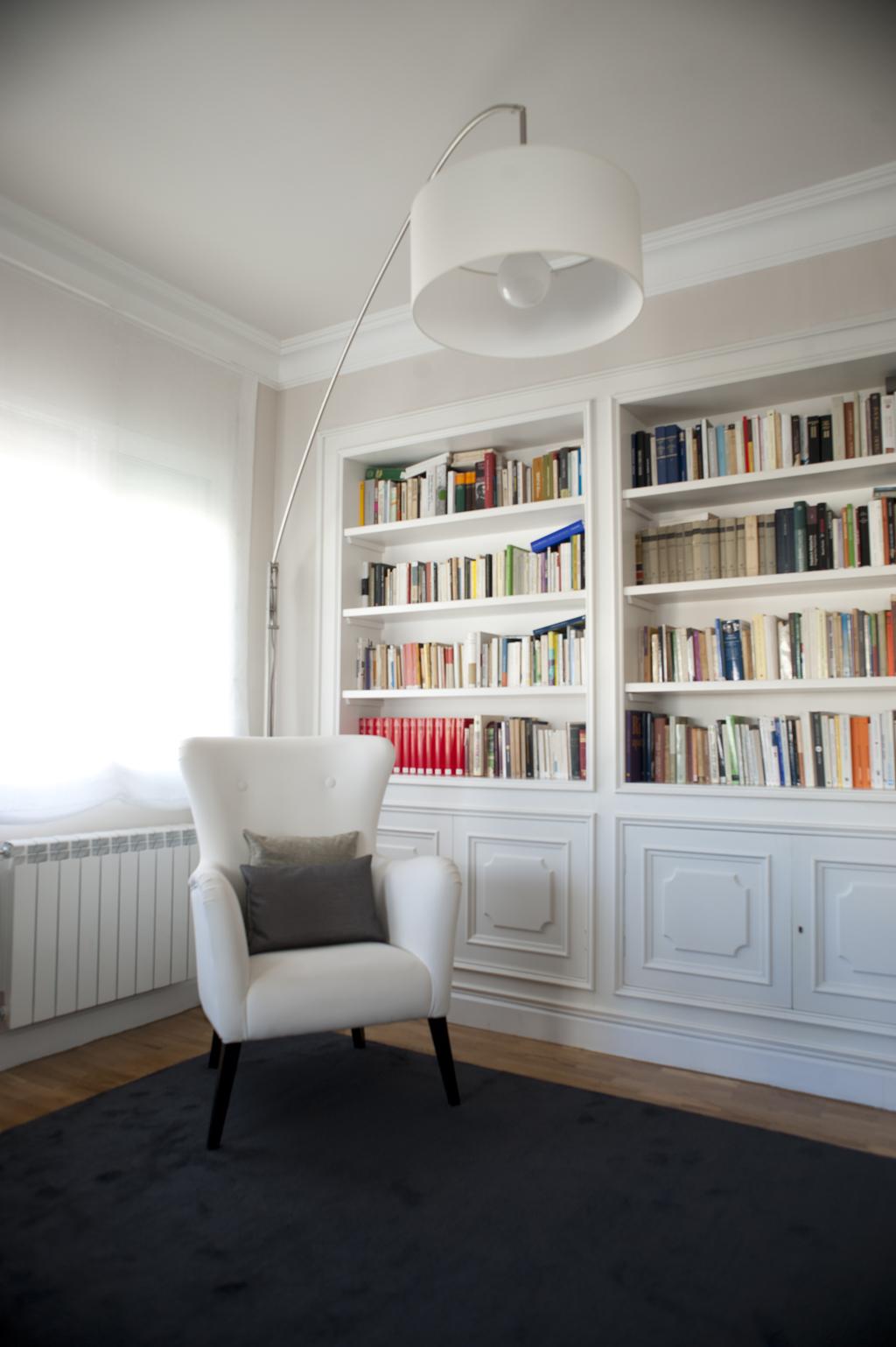 Interiorismo para un piso - barrio de Salamanca - Madrid (1)