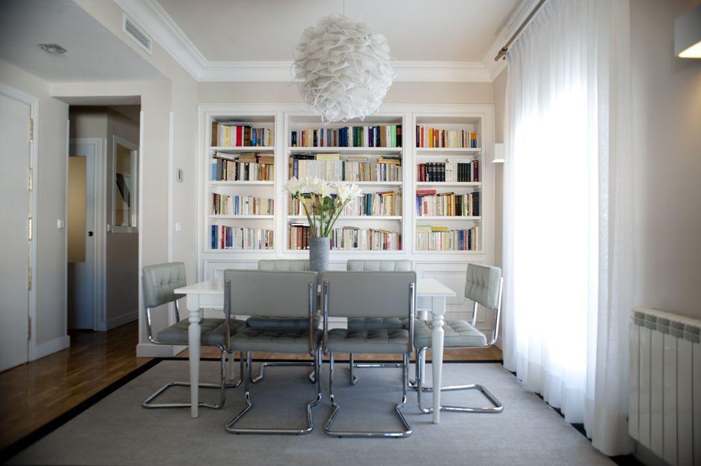 Interiorismo para un piso - barrio de Salamanca - Madrid (7)